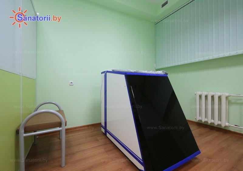 Санатории Белоруссии Беларуси - санаторий Нарочанка - Ванна сухая углекислая