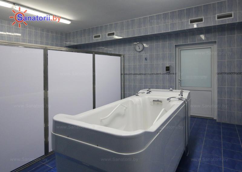 Санатории Белоруссии Беларуси - санаторий Нарочанка - Душ-массаж подводный