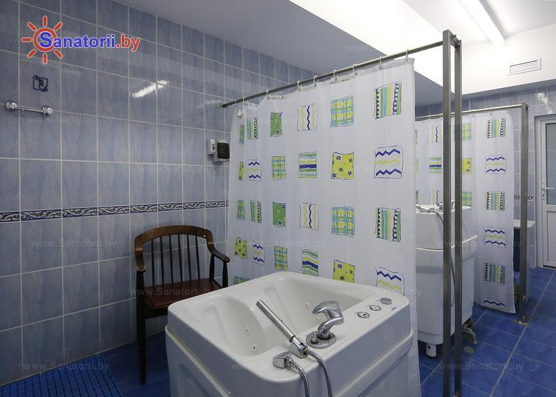 Санатории Белоруссии Беларуси - санаторий Нарочанка - Ванны вихревые