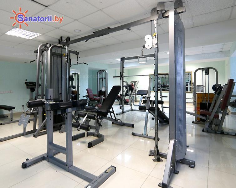 Санатории Белоруссии Беларуси - санаторий Нарочанка - Тренажерный зал (механотерапия)