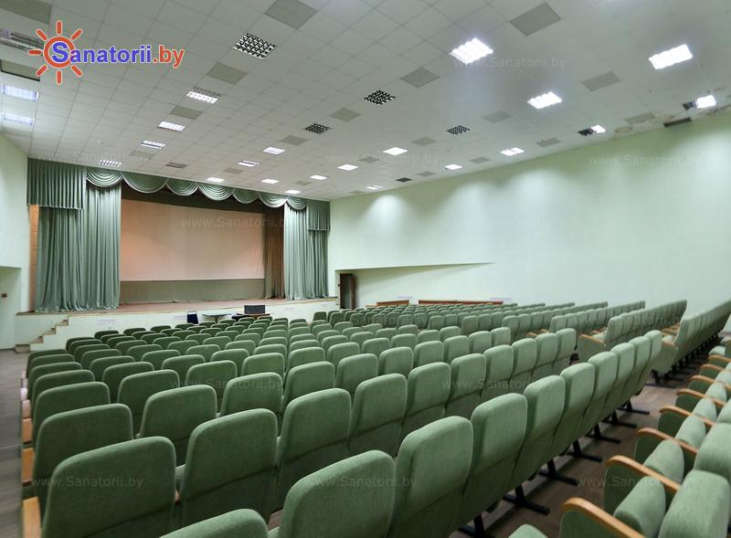Санатории Белоруссии Беларуси - санаторий Нарочанка - Кинозал