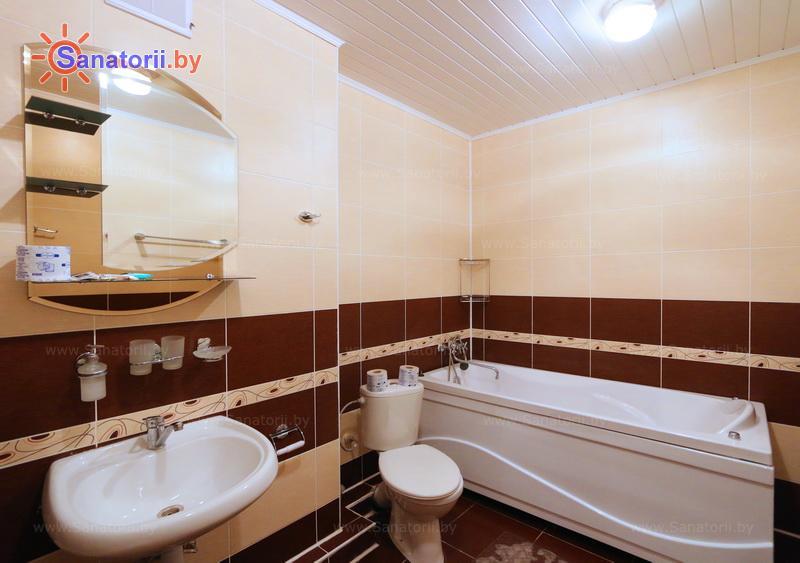 Санатории Белоруссии Беларуси - санаторий Нарочанка - двухместные двухкомнатные апартаменты (лечебный корпус)