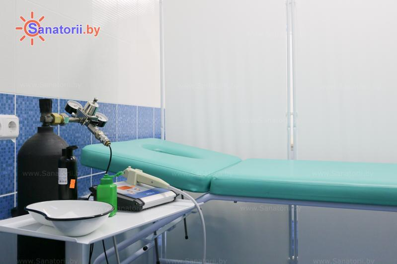 Санатории Белоруссии Беларуси - санаторий Нарочанка - Карбокситерапия (газовые уколы)