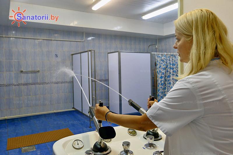 Санатории Белоруссии Беларуси - санаторий Нарочанка - Душ струевой (душ Шарко)
