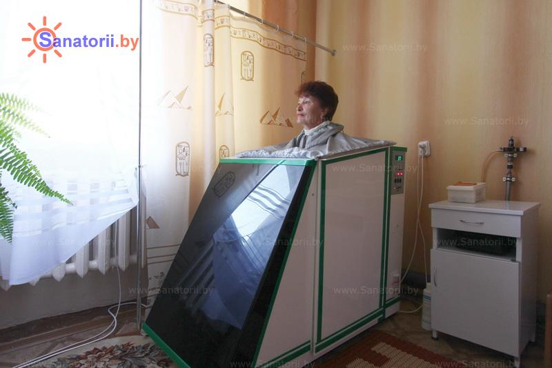 Санатории Белоруссии Беларуси - санаторий Алеся - Ванна сухая углекислая