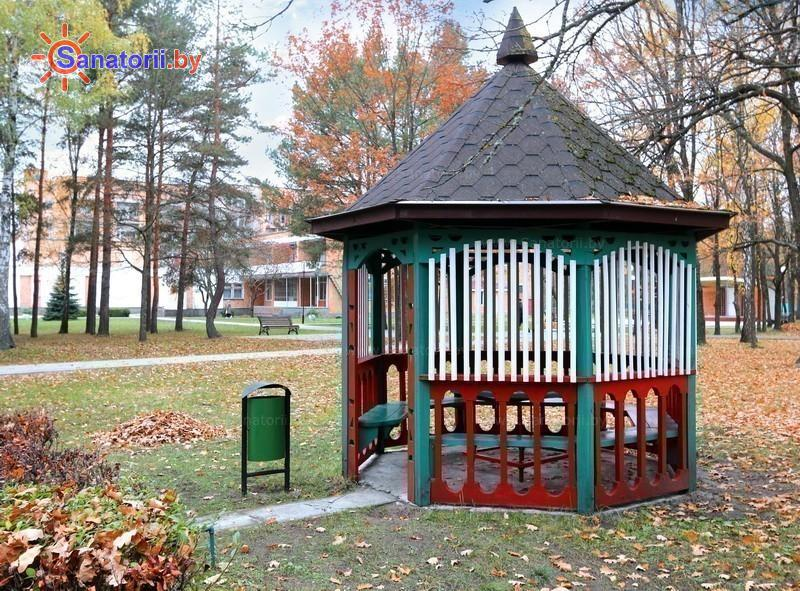 Санатории Белоруссии Беларуси - санаторий Алеся - Территория и природа