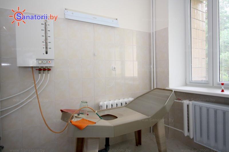 Санатории Белоруссии Беларуси - санаторий Берестье - Орошения вагинальные минеральной водой