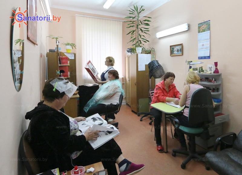 Санатории Белоруссии Беларуси - санаторий Берестье - Парикмахерская