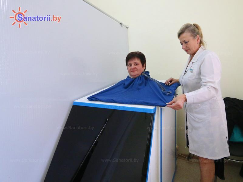 Санатории Белоруссии Беларуси - санаторий Берестье - Ванна сухая углекислая