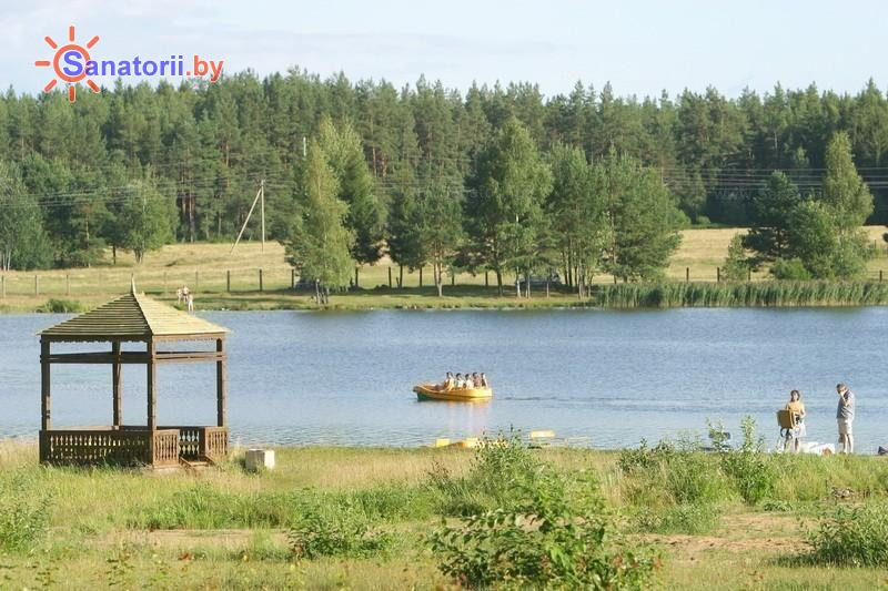 Санатории Белоруссии Беларуси - санаторий Боровое - Прокат лодок