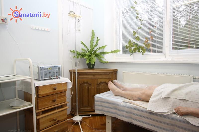 Санатории Белоруссии Беларуси - санаторий Боровое - Озонотерапия
