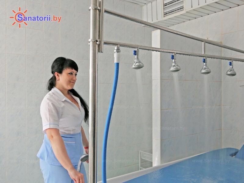 Санатории Белоруссии Беларуси - санаторий Боровое - Душ лечебный
