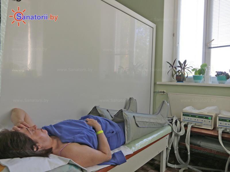 Санатории Белоруссии Беларуси - санаторий Боровое - Компрессионная терапия