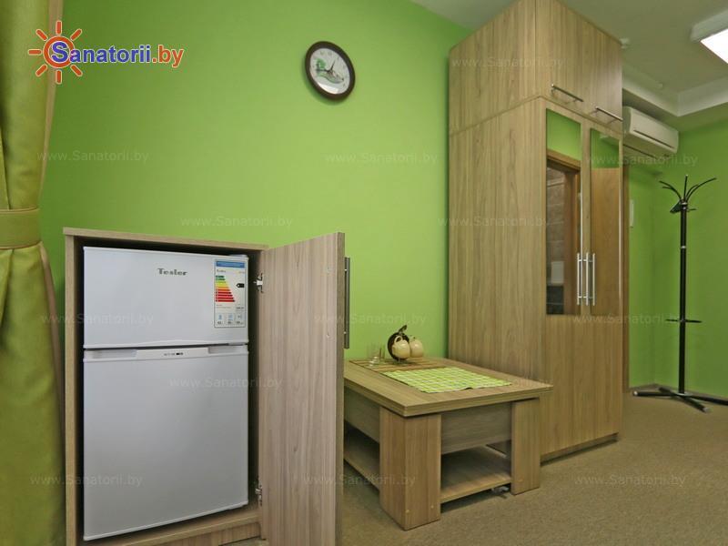 Санатории Белоруссии Беларуси - санаторий Боровое - одноместный однокомнатный / c балконом (корпус №2)