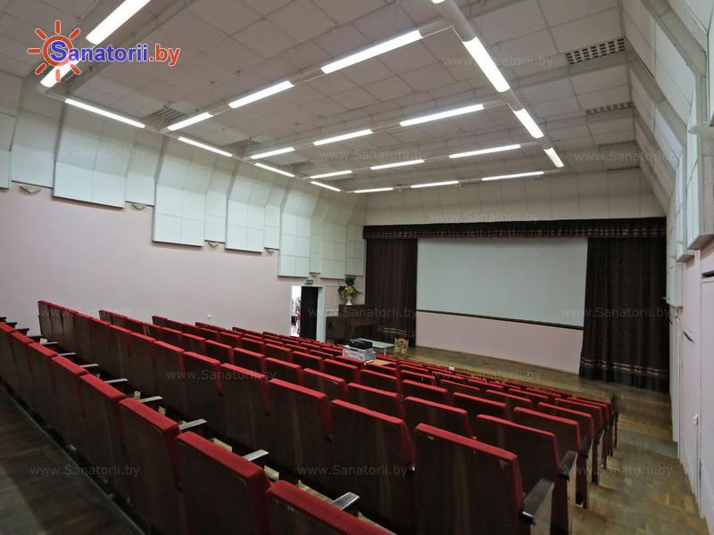 Санатории Белоруссии Беларуси - санаторий Боровое - Кинозал