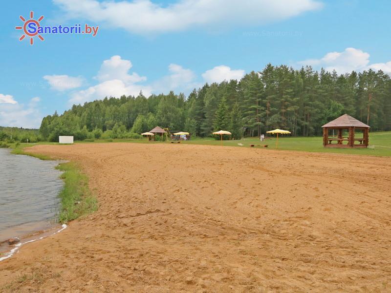 Санатории Белоруссии Беларуси - санаторий Боровое - Пляж