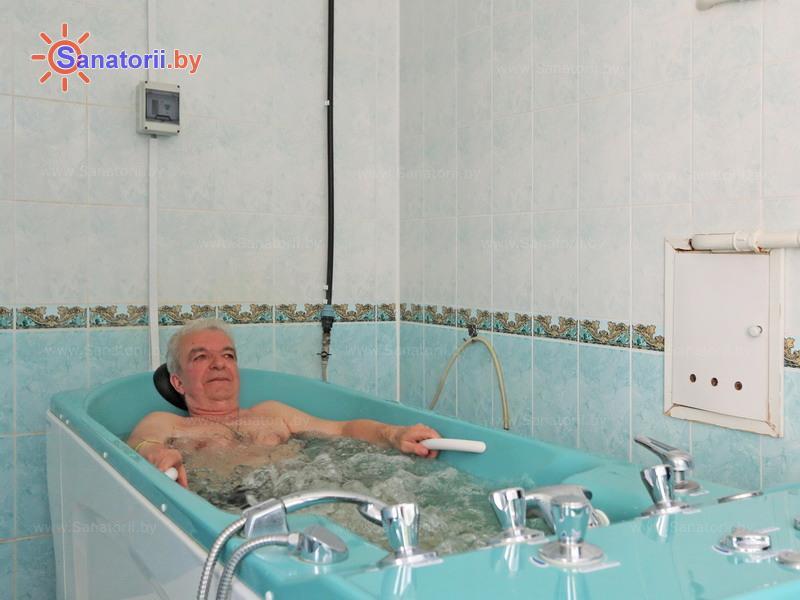Санатории Белоруссии Беларуси - санаторий Боровое - Ванны скипидарные