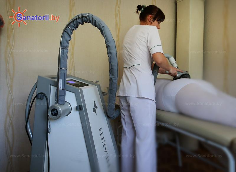Санатории Белоруссии Беларуси - санаторий Буг - Массаж вакуумный