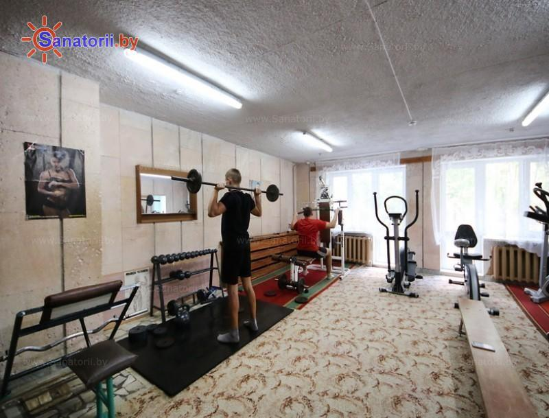 Санатории Белоруссии Беларуси - санаторий Буг - Тренажерный зал (механотерапия)
