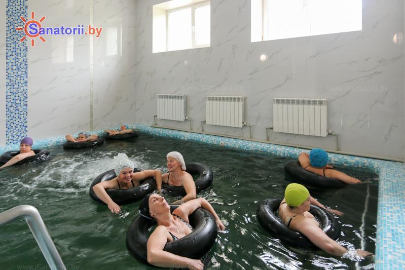 Санатории Белоруссии Беларуси - санаторий Буг - Вытяжение позвоночника подводное