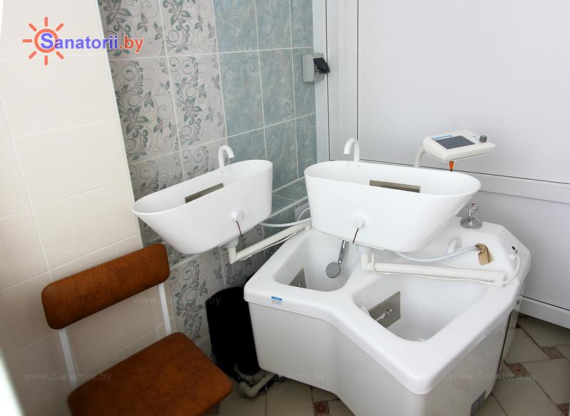 Санатории Белоруссии Беларуси - оздоровительный центр Энергетик - Ванны гальванические четырехкамерные