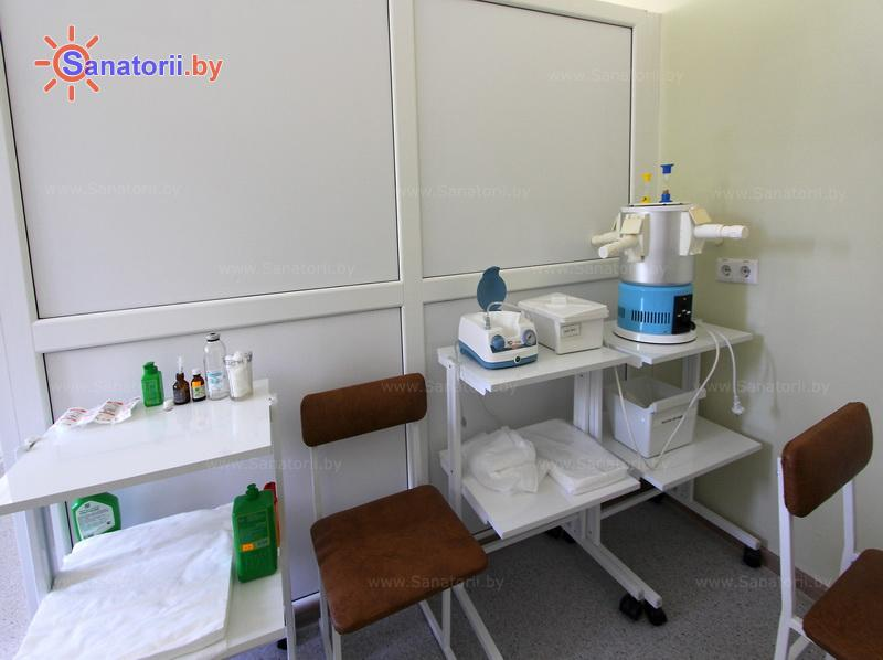 Санатории Белоруссии Беларуси - оздоровительный центр Энергетик - Ингаляции (аэрозольтерапия)