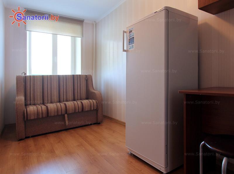 Санатории Белоруссии Беларуси - оздоровительный центр Энергетик - двухместный двухкомнатный (жилой корпус)