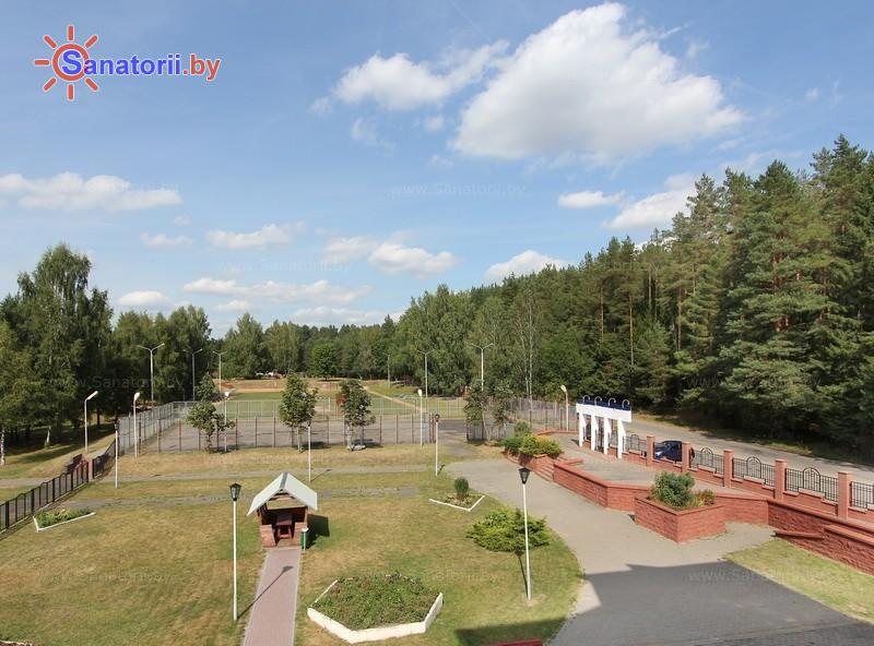 Санатории Белоруссии Беларуси - оздоровительный центр Энергетик - Территория и природа