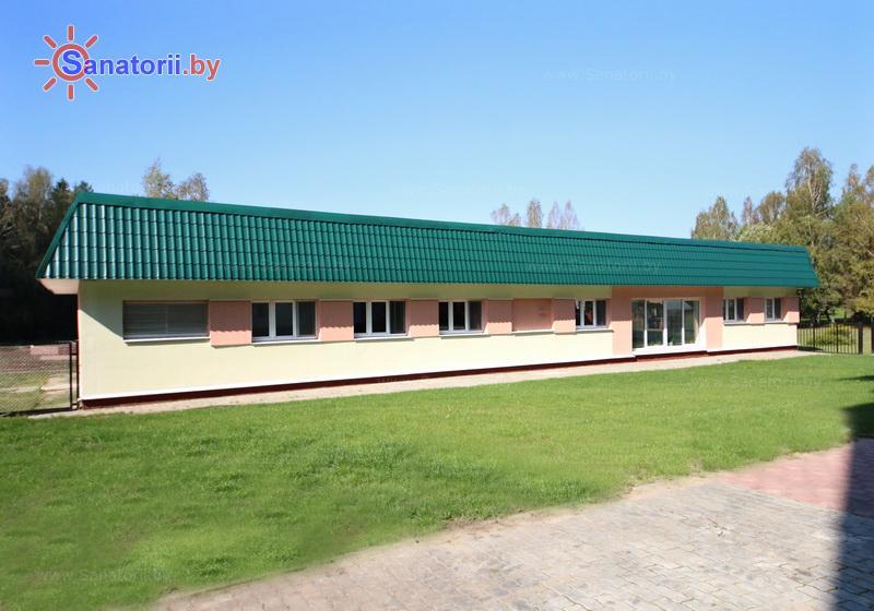 Санатории Белоруссии Беларуси - оздоровительный центр Энергетик - лечебный корпус