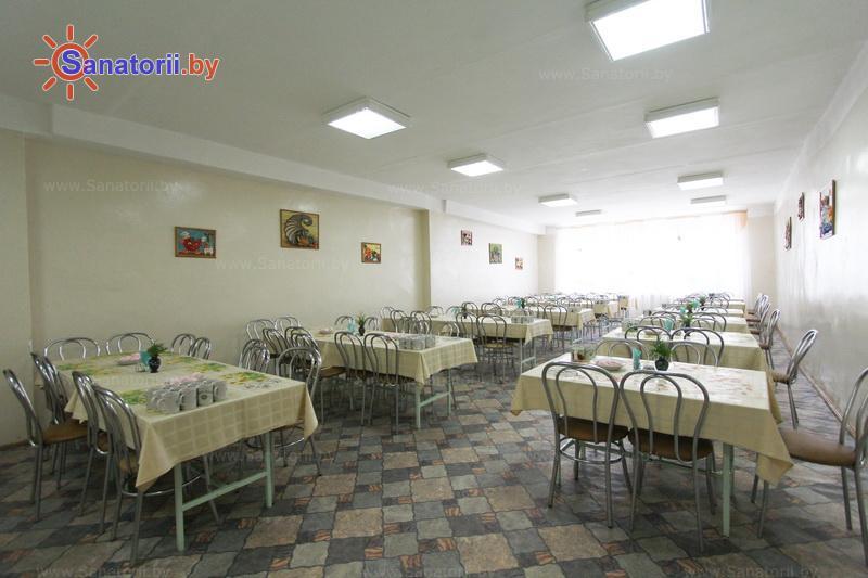 Санатории Белоруссии Беларуси - ДРОЦ Лесная поляна - Столовая