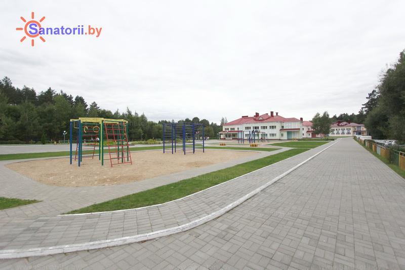 Санатории Белоруссии Беларуси - ДРОЦ Лесная поляна - Территория и природа