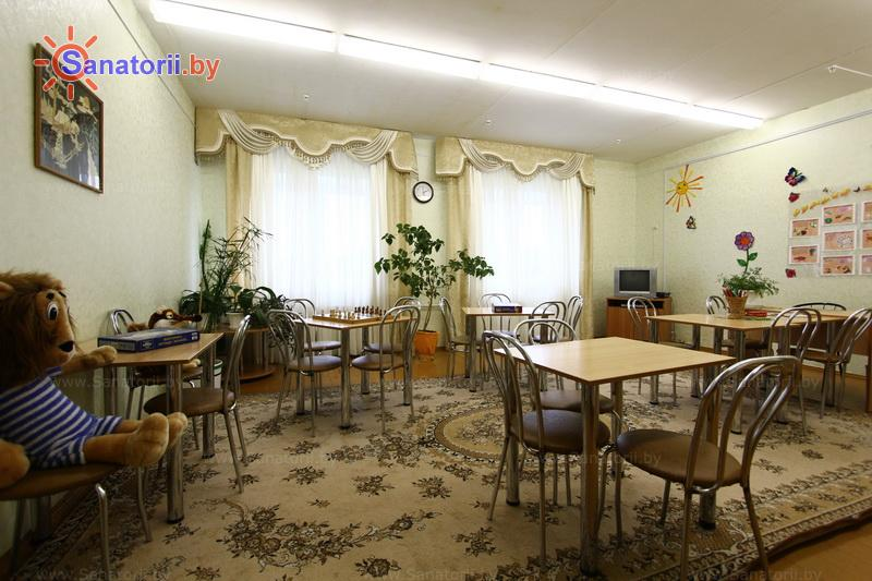 Санатории Белоруссии Беларуси - ДРОЦ Лесная поляна - Детская комната