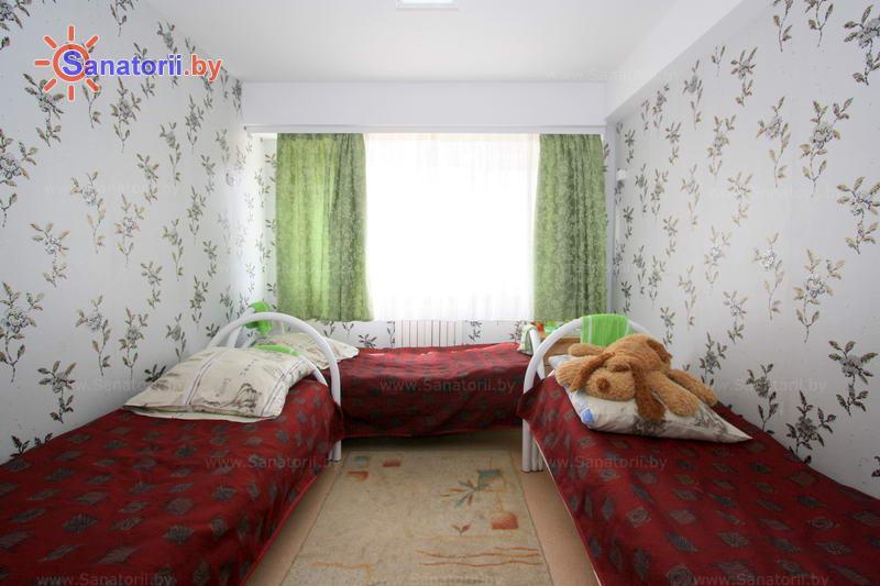 Санатории Белоруссии Беларуси - ДРОЦ Лесная поляна - трехместный однокомнатный (корпуса № 1, 2, 4)