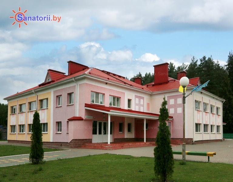 Санатории Белоруссии Беларуси - ДРОЦ Лесная поляна - спальный корпус №2