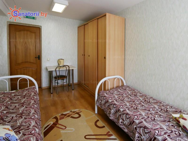 Санатории Белоруссии Беларуси - ДРОЦ Лесная поляна - двухместный однокомнатный (корпуса № 1, 2, 4)