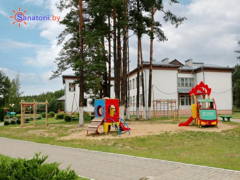 Санатории Белоруссии Беларуси - ДРОЦ Лесная поляна - Детские комнаты и площадки