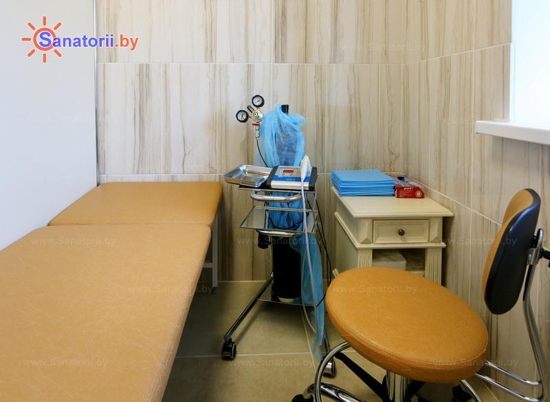 Санатории Белоруссии Беларуси - санаторий Альфа-Радон - Карбокситерапия (газовые уколы)