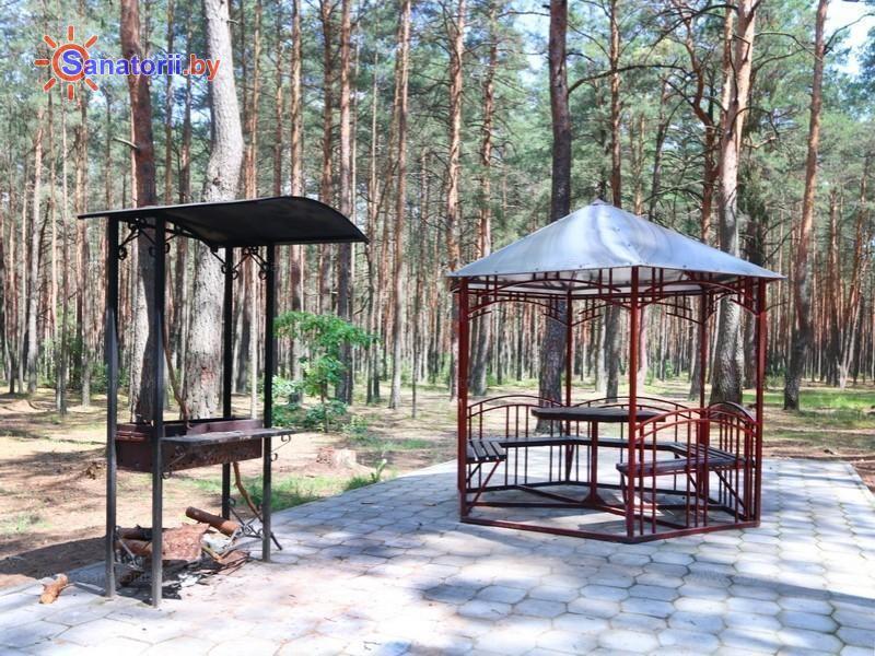 Санатории Белоруссии Беларуси - санаторий Альфа-Радон - Площадка для шашлыков