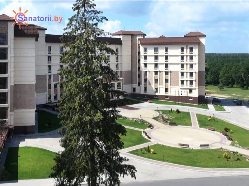 Санатории Белоруссии Беларуси - санаторий Альфа-Радон - Территория и природа