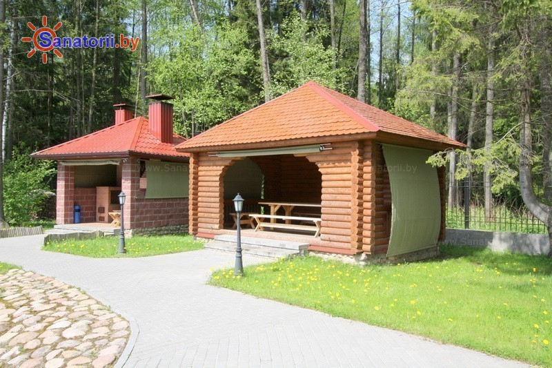 Санатории Белоруссии Беларуси - санаторий Веста - Территория и природа