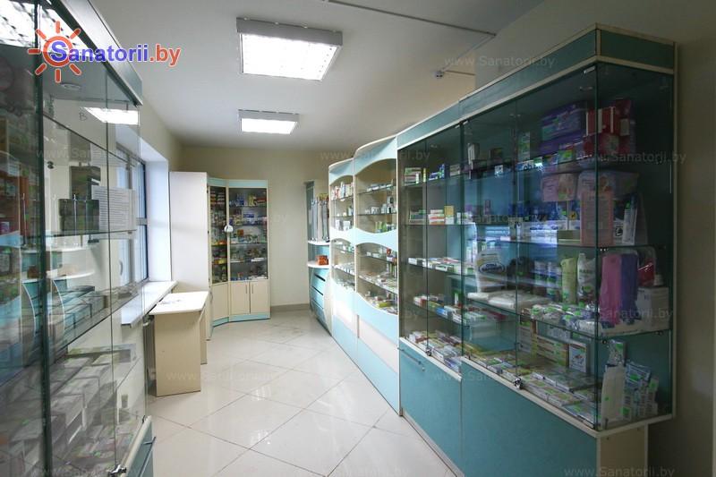 Санатории Белоруссии Беларуси - санаторий Веста - Аптечный киоск