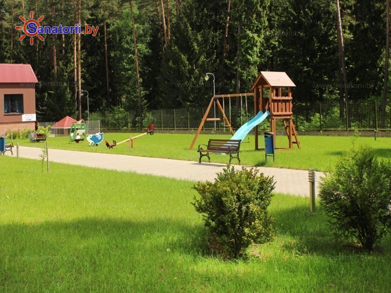 Санатории Белоруссии Беларуси - санаторий Веста - Детская площадка