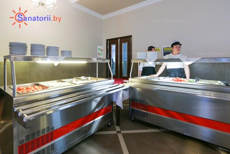 Санатории Белоруссии Беларуси - санаторий Веста - Столовая