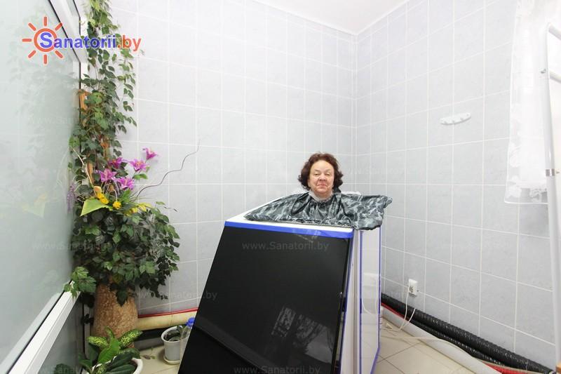 Санатории Белоруссии Беларуси - санаторий Журавушка - Ванна сухая углекислая