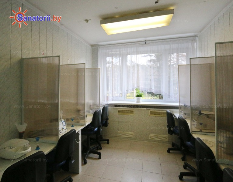 Санатории Белоруссии Беларуси - санаторий Журавушка - Ингаляции (аэрозольтерапия)