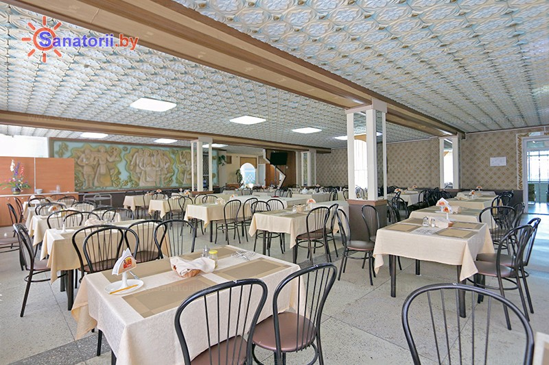 Санатории Белоруссии Беларуси - санаторий Журавушка - Столовая