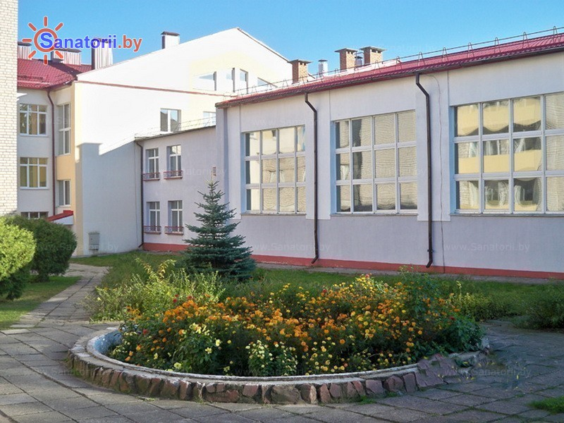 Санатории Белоруссии Беларуси - ОДЦМР Пуховичи - Территория и природа