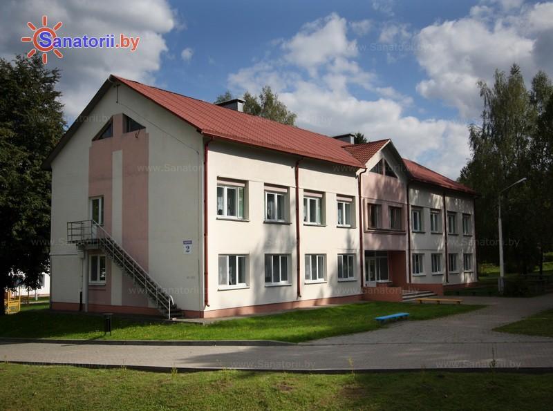 Санатории Белоруссии Беларуси - санаторий Зеленый бор - спальный корпус №2