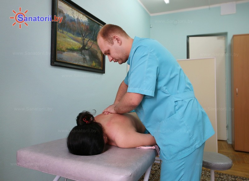 Health resort of Belarus - health resort Zeleni Bor - Manual massage