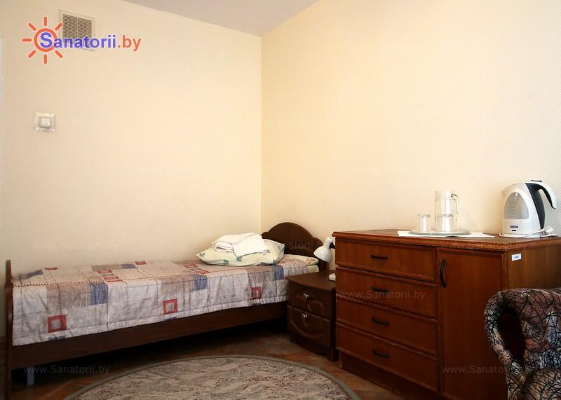 Санатории Белоруссии Беларуси - санаторий Зеленый бор - одноместный в блоке (1+1) (спальный корпус №8)
